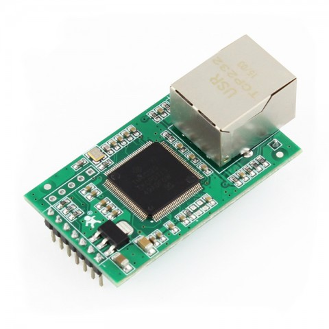 Dual TTL UART to Ethernet Module