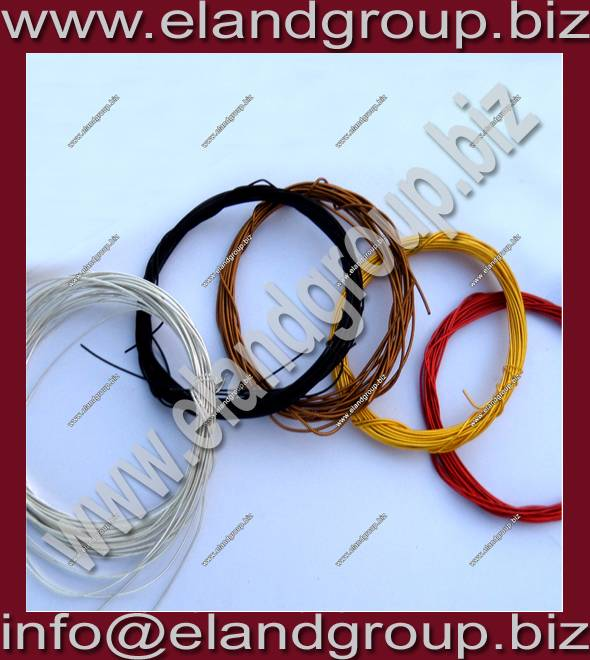 Multicolor French coil Pearl Purl