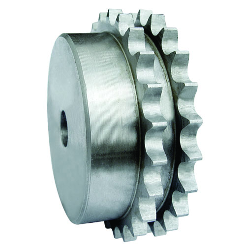 sprocket for double roller chain