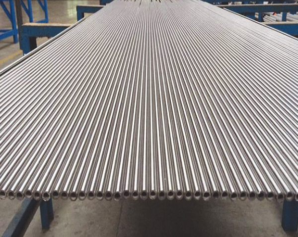 Small Diameter Straight Stainless Steel Heat Exchanger Tubes Welded TP316 / 316L