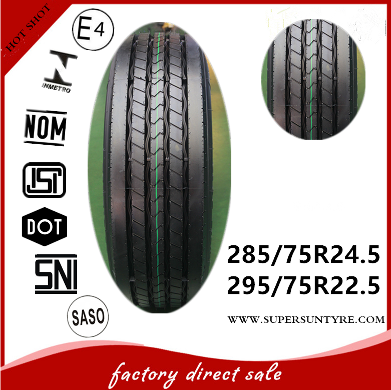 HOT tires 295 75 22.5 truck tire