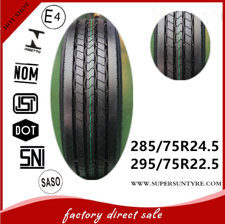 HOT tires 295 75 22.5 truck tire