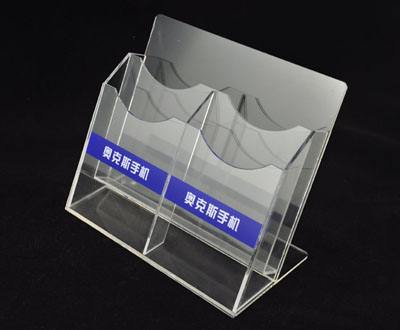Original Factory Customized Clear PMMA Sign Holder