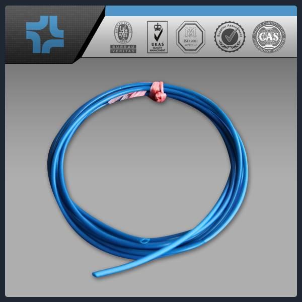 Light blue pigment filled PTFE teflon tube