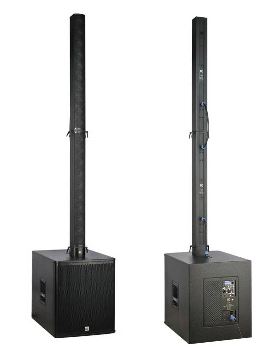self powered column speaker conference sound system