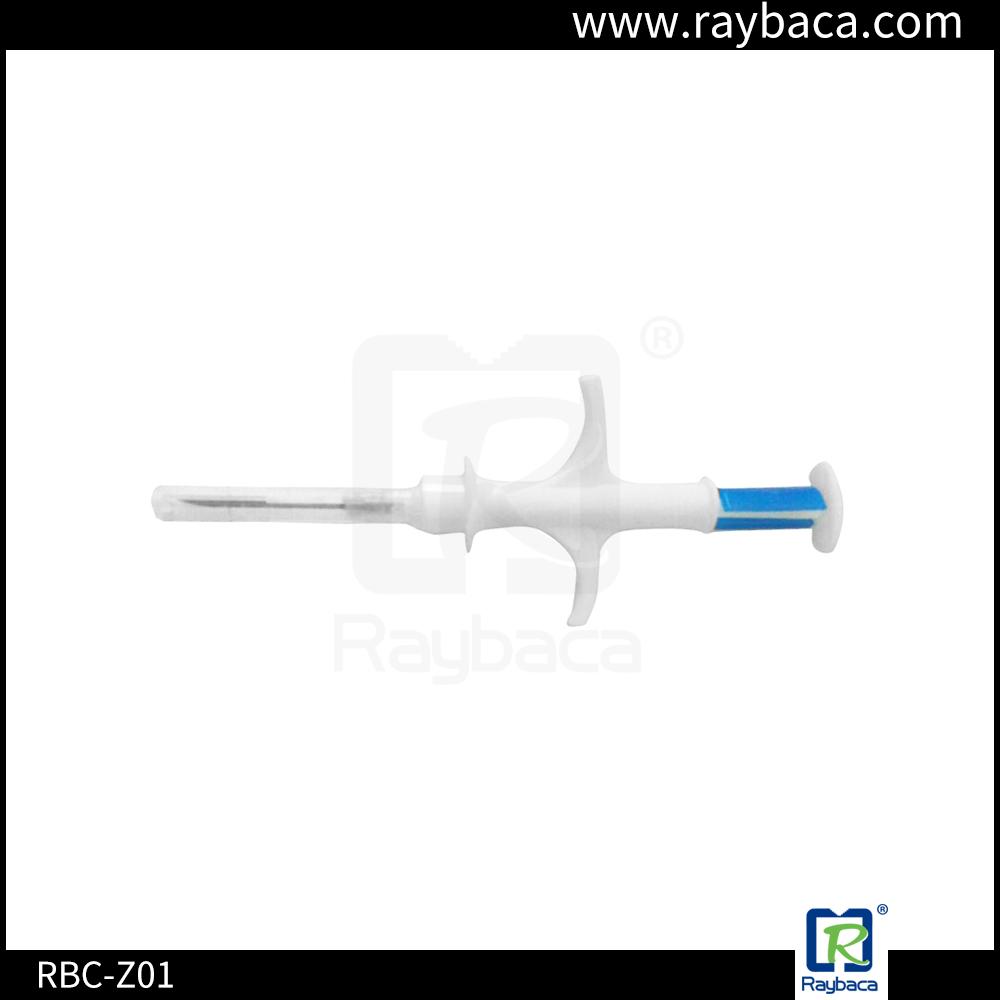 RBC-Z01 RFID 2.12X12mm glass tube animal ID syringe