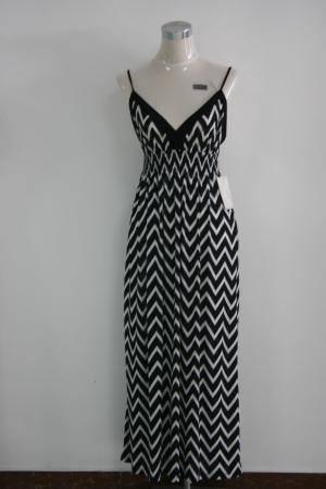 Hot Sale New Fashion Beautiful Prom Dress Stripe Waistcoat Party Maxi Dress