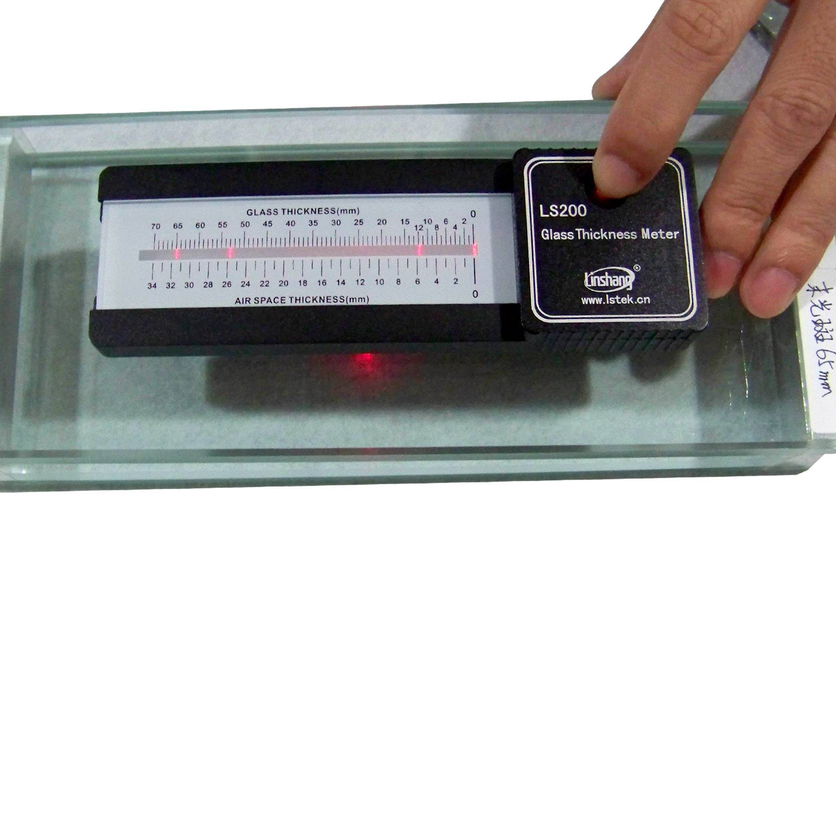 LS200 Glass Thickness Meter