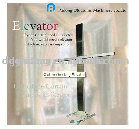 elevator for curtain