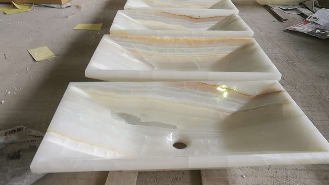 White Marble Sink,Bathroom Vessel Sink
