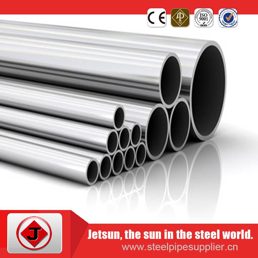 Stainless steel pipe for decoration in ANSI 201 202 301 304 316 430 304L 316L