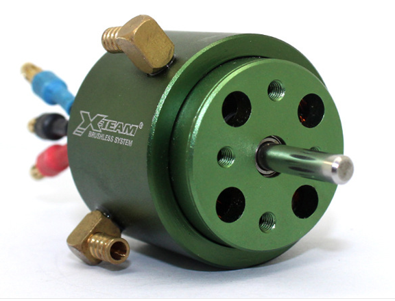 X-TEAM 2835 with water-cooled brushless motor 4mm shaft high-speed ship model four-pole brushless mo