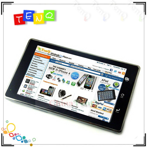 7inch apad android 2.1 notebook Support WIFI,3G MID PC chinese ipad best laptops
