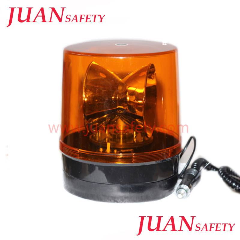 24 Volt Big Rotator warning Beacon single flashing LTD504