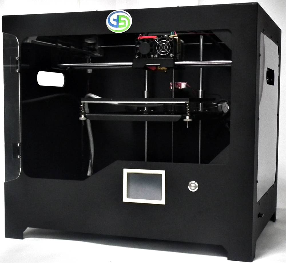 Factory direct supply singlw extruder 3d printer, desktop FDM 3d printer machine