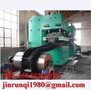 Sidewall conveyor belt vulanizing press