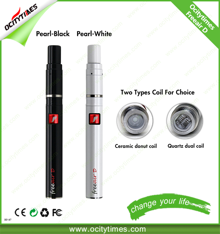 Ocitytimes best vape pen for wax and dry herb Freeair-D vape starter kit