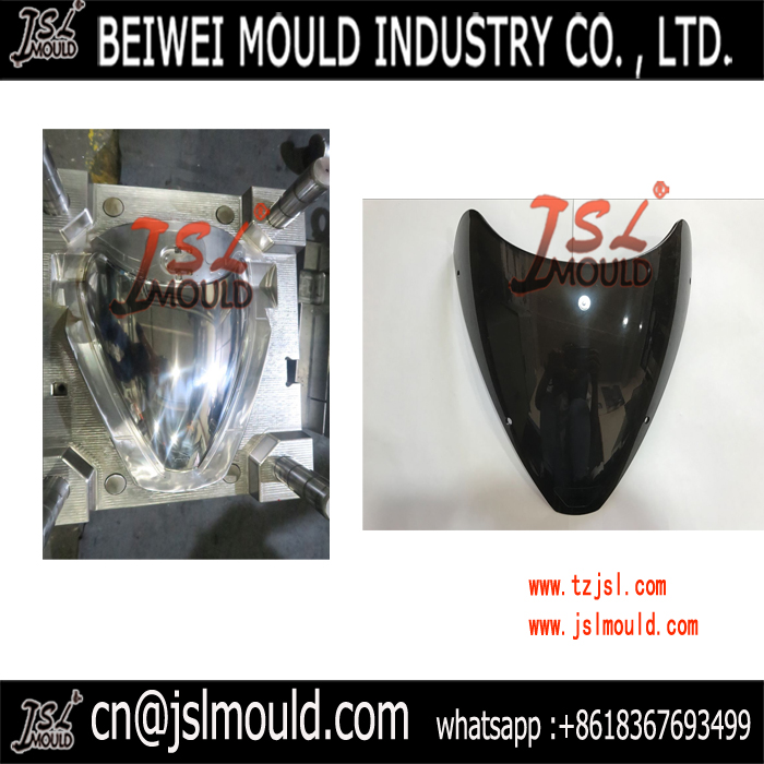 Motorcycle Headlight Visor glass Mould
