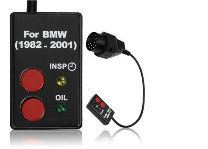 SI Reset BMW Old OBD2 Inspection Oil Service Reset Tool for BMW 1982-2001 20Pin
