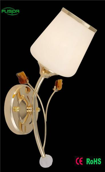 Popular Glass wall lamp for decorative and lighting 9379/1w