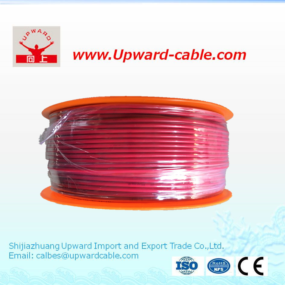 Solid Copper electric wire with pvc insulated