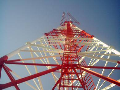 three-tube tower communication tower