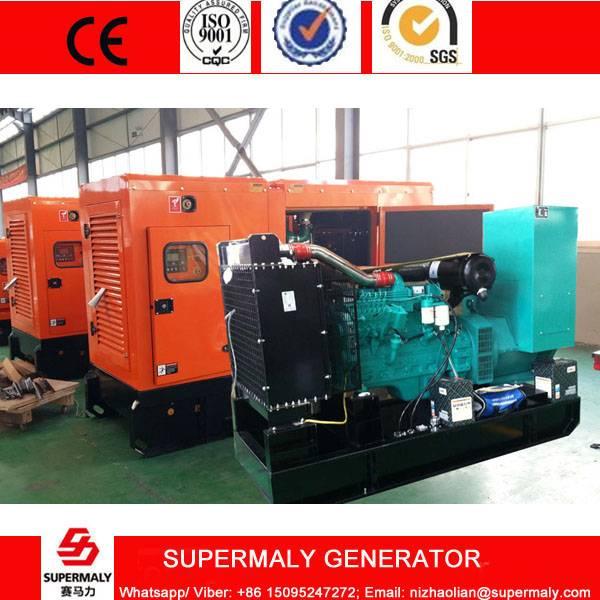 Silent 30KVA 24KW Diesel Generator by Cummins Engine 4BT3.9-G1