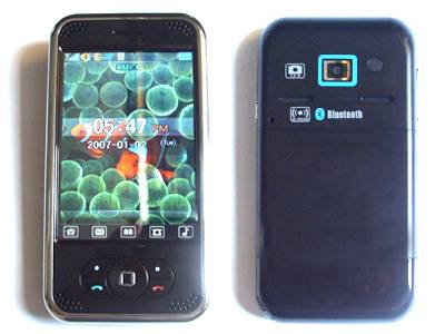 P168 3.2 inch touch screen ,Mp3/Mp4, Bluetooth Mobile Phone