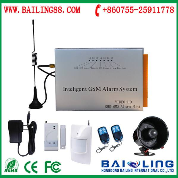 One relay output wireless gsm alarm system digital keyboard burglar alarm system gsm alarm system