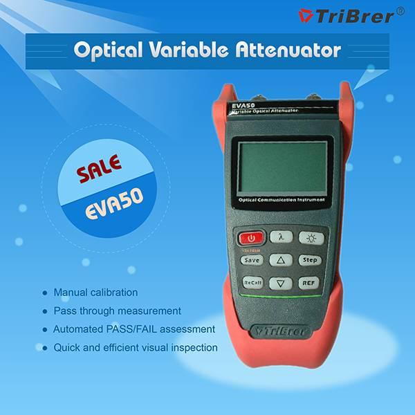 Optical Attenuator Tribrer Brand EVA50-60,Variable Attenuator,Digital Attenuator