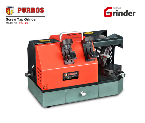 PURROS PG-Y6 screw tap grinder, best drill sharpening machine