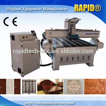 Jinan Good Quality RD-1325 water cooling wood door engraving cnc router machine