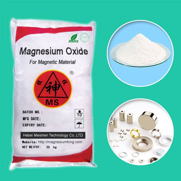 Magnesium Oxide for Magnetic Material