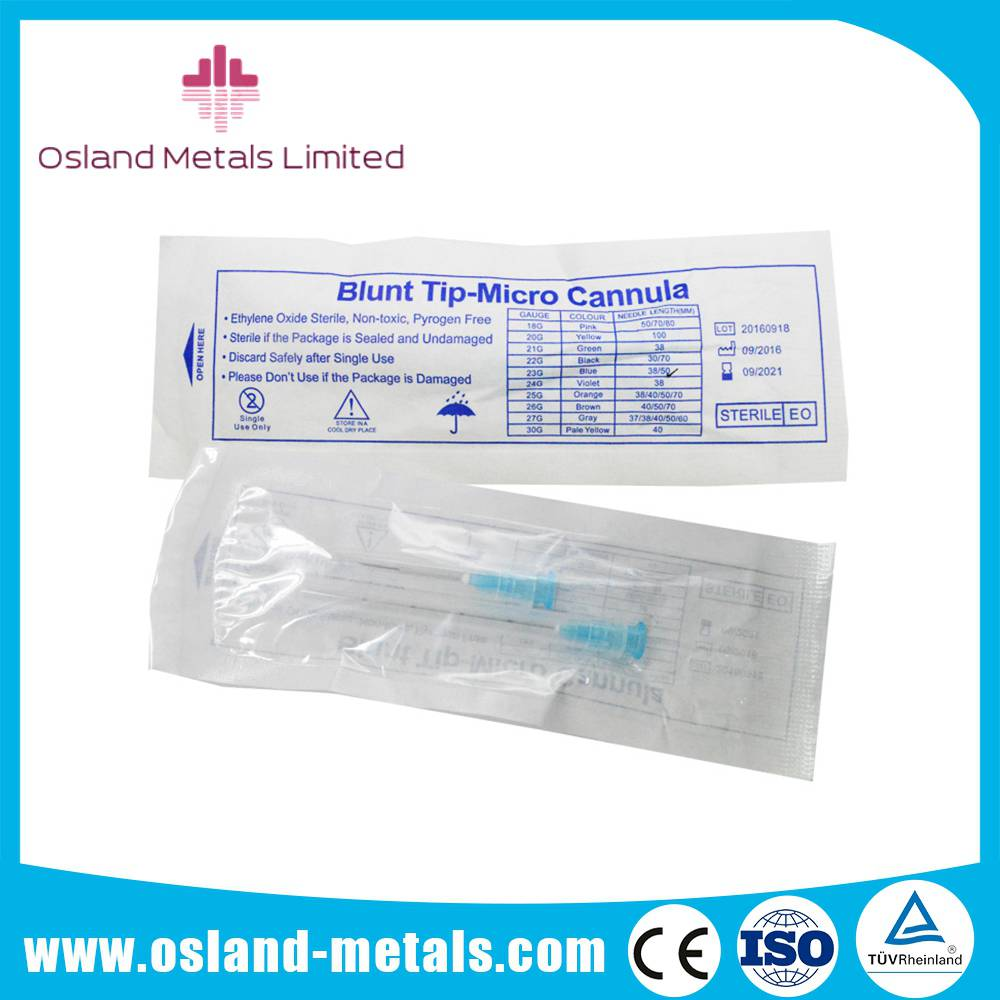Micro Cannula Blunt & Sharp Tip Needle for Skin Beauty PDO Facial Tightening Thread Lift Blunt needl