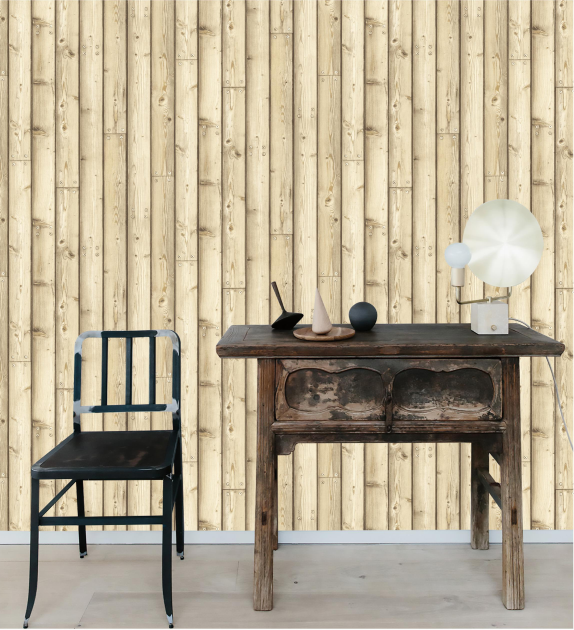 High Quality Eco-friendly Wood Pattern 3d Wallpaper for Home Decoration Dedroom and Living room
