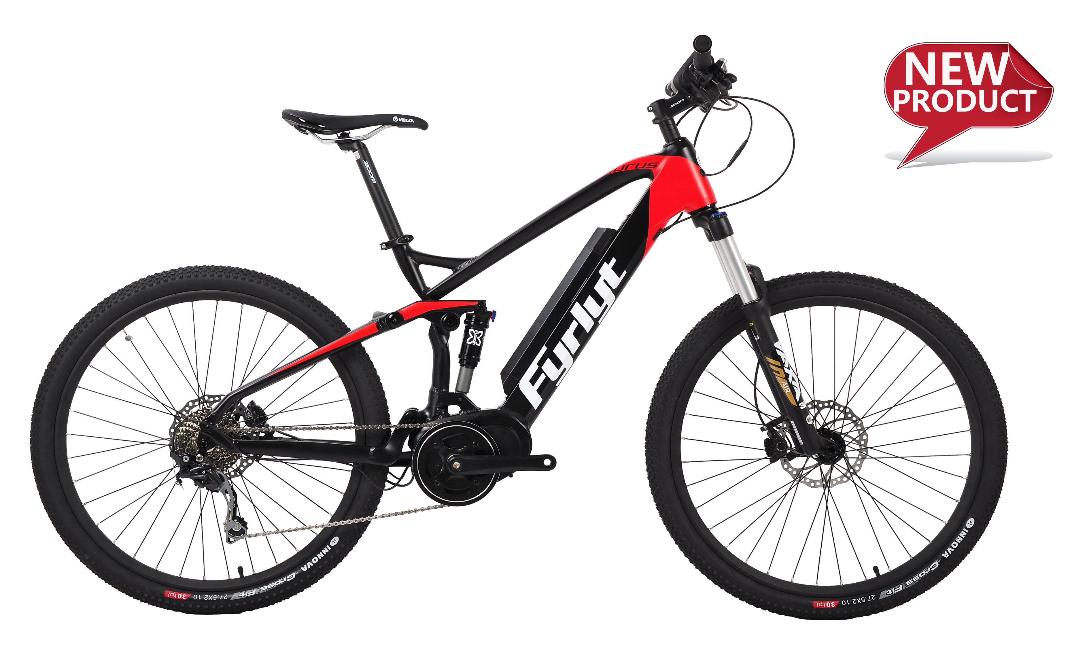 27.5'' Bafang Mid-drive Full Suspension Electric Bike