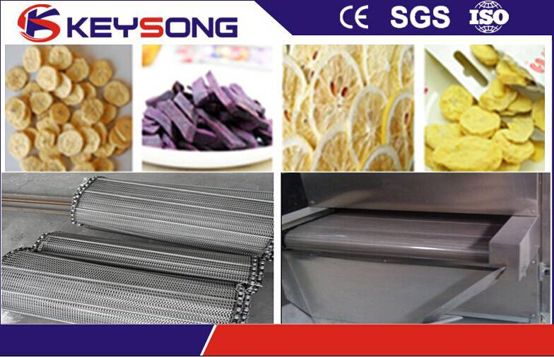 Five-layer seven layer tunnel dryer for beans grains meat