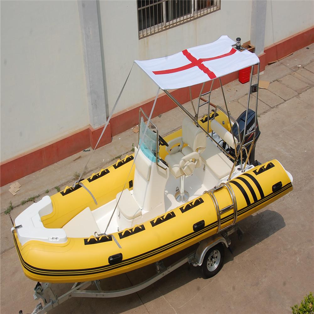 RIB-520 5.2m fiberglass fishing boat for sale