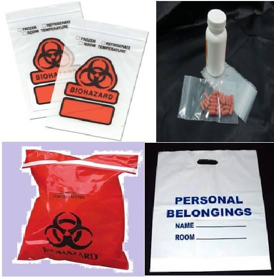 Medical Bags, Healthcare Bags, Patient's Bags, Pill Bag, Biohazard Bags, Specimen Bags, Hospital Bag