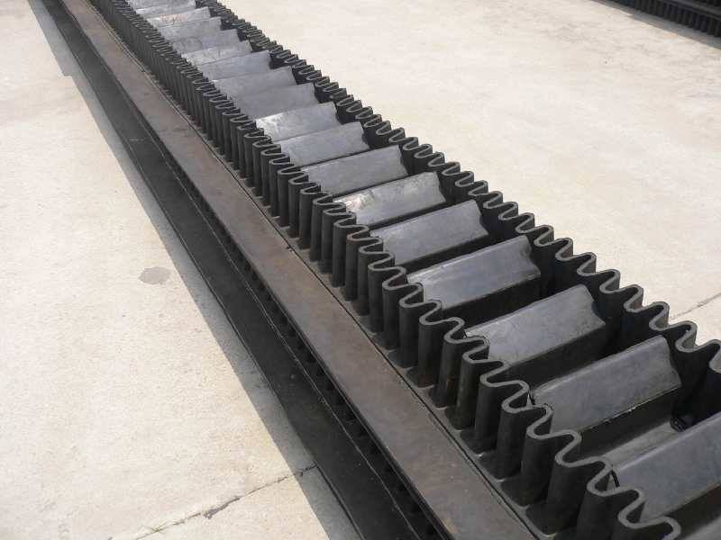 China supplier high quality conveyor corrugated sidewall belting