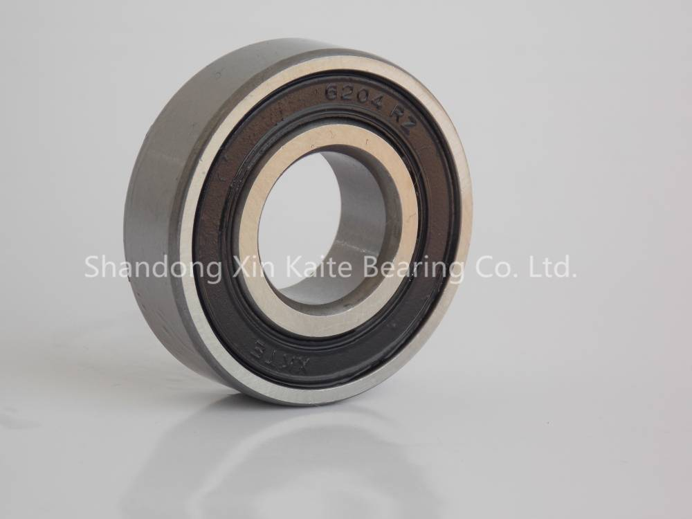 XKTE Brand sealed bearing 6204-2R, 6204-2RS,6204ZZ