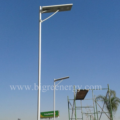 Integrated solar street light 40W
