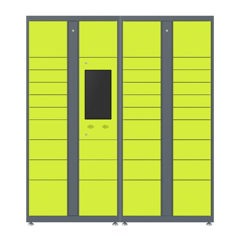 Supermarket storage metal automatic locker intelligent metal locker smart parcel locker solution