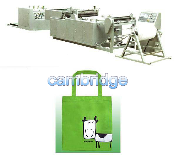 None Woven fabric bags making machine