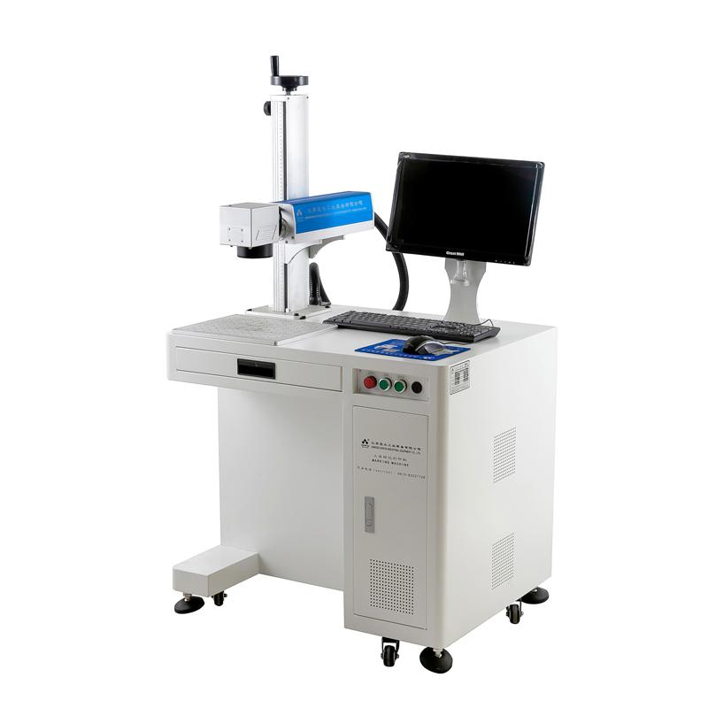 Cheap price fiber laser marking machine metal label engraving machine labeling machine