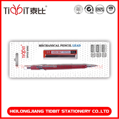 Mechanical pencil with lead tube personalized stationery set