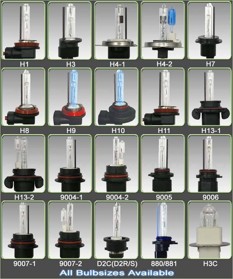 12V 35W Single-Beam HID Xenon Bulbs