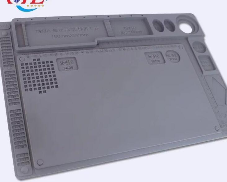 Multi-function Silica gel Mat Heat Insulated Pad maintenance platform