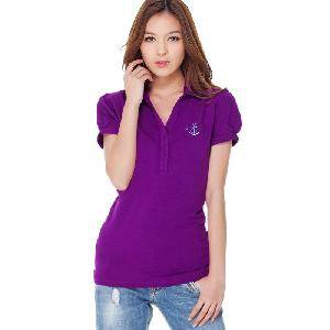 Lady's Quality Fashion Polo T-Shirt