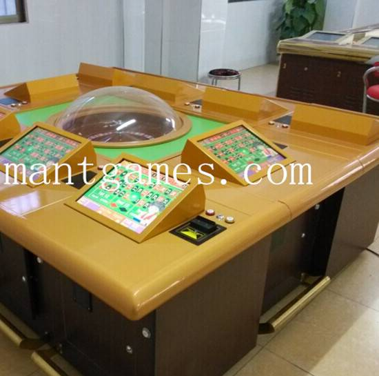 2015 Mantong Manufacturer Luxury Roulette Machine for 10 Players
